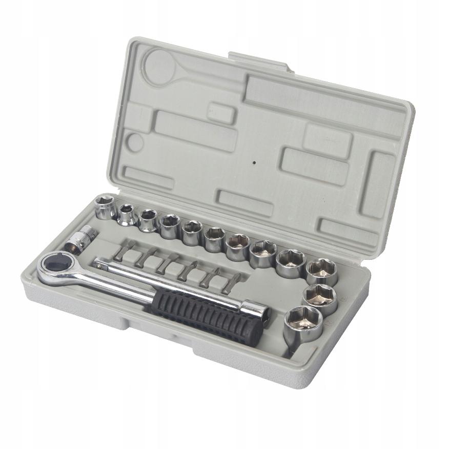 Zestaw kluczy nasadowych OK 7-21mm 21szt. /I2