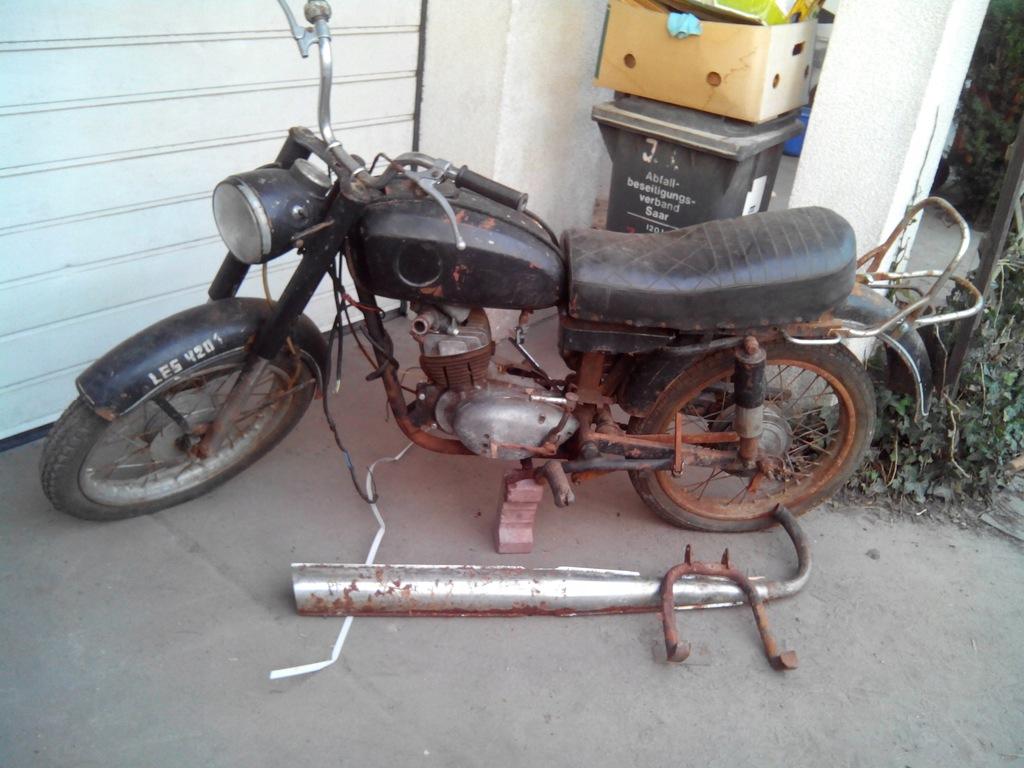 Sprzedam Motocykl Wsk 125 8304155661 Oficjalne Archiwum Allegro