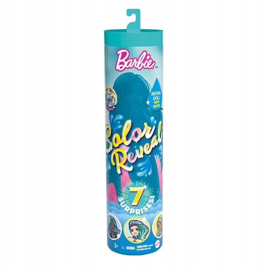Barbie COLOR REVEAL kolorowa niespodzianka SYRENKA