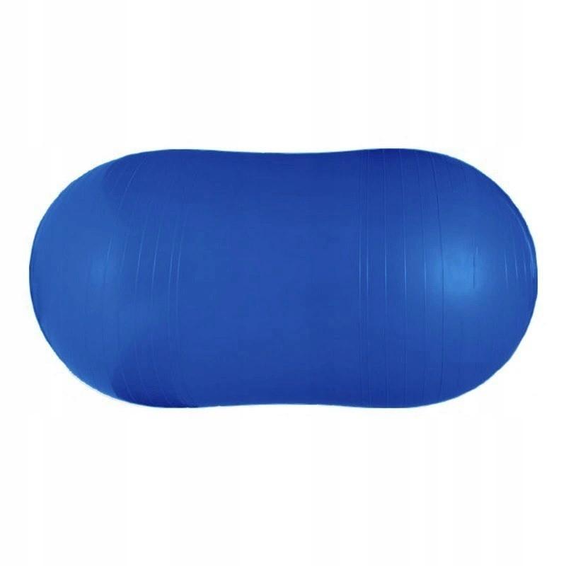 Piłka gimnastyczna podłużna 50x100cm SPOKEY POMPKA
