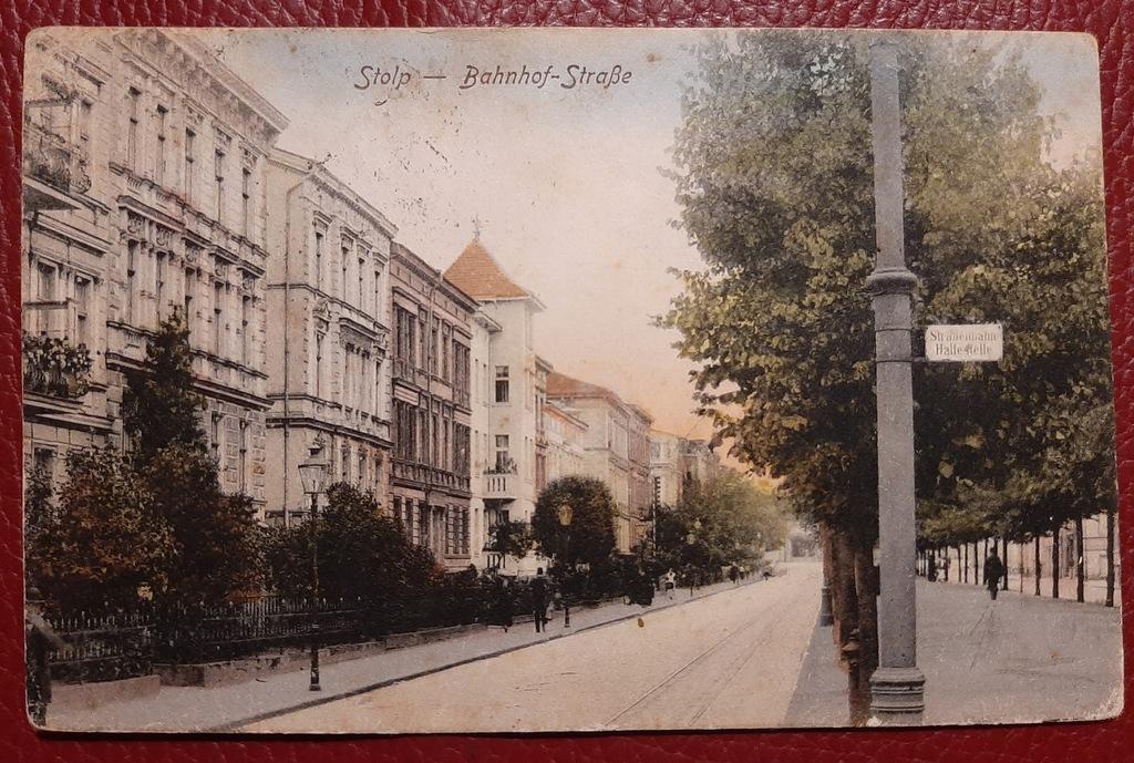 Pocztówka Stolp - Słupsk około 1900-10 rok
