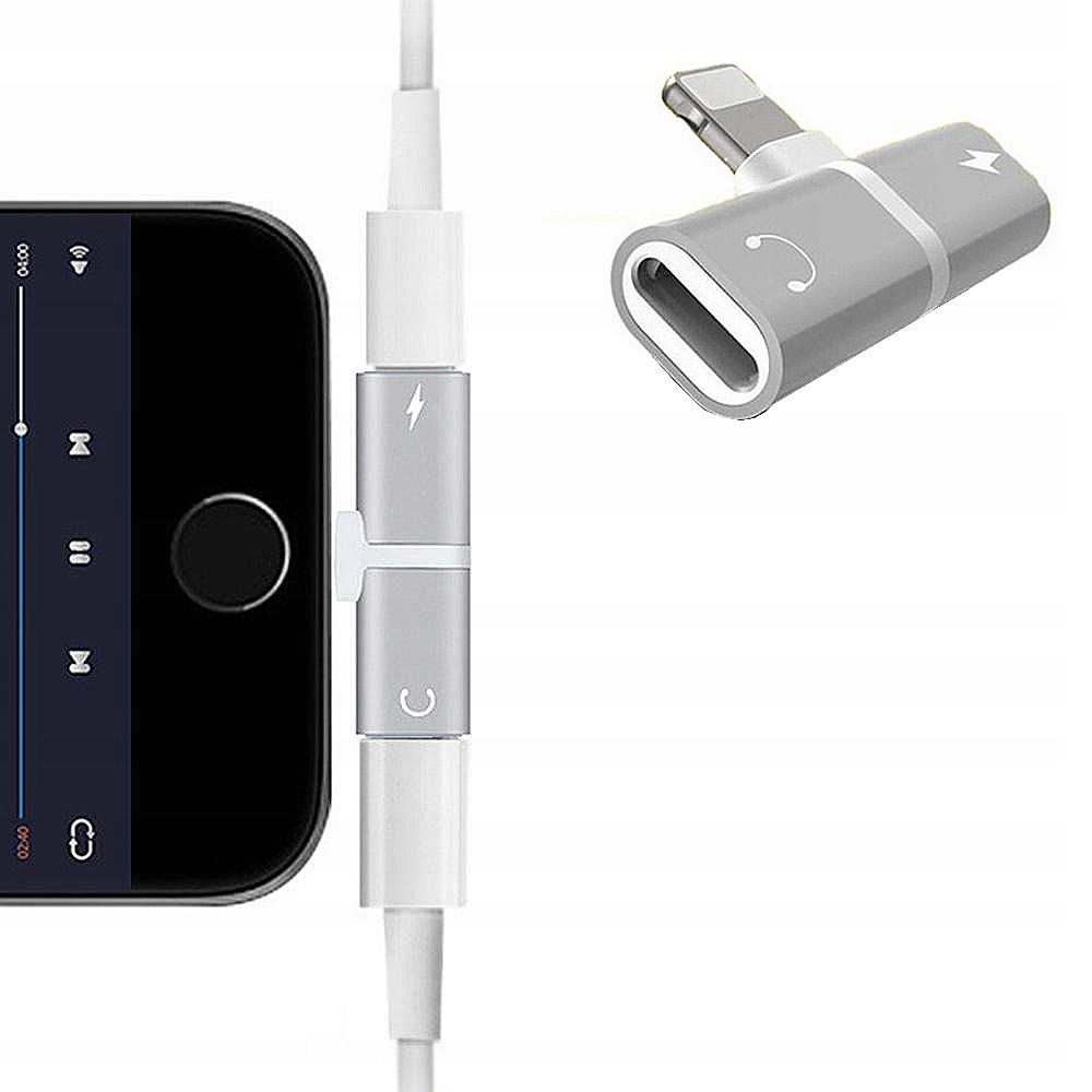 Adapter Przejściówka Rozdzielacz do iPhone 11