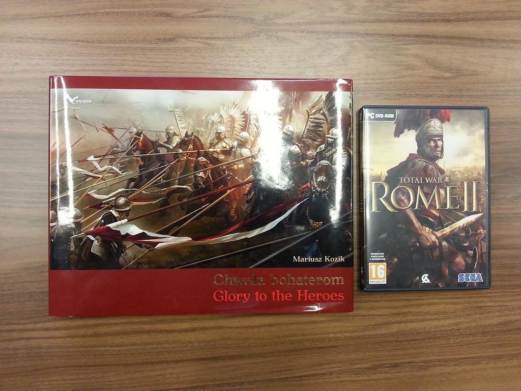 CD-ACTION i CENEGA – Gadżety Total War: Rome II