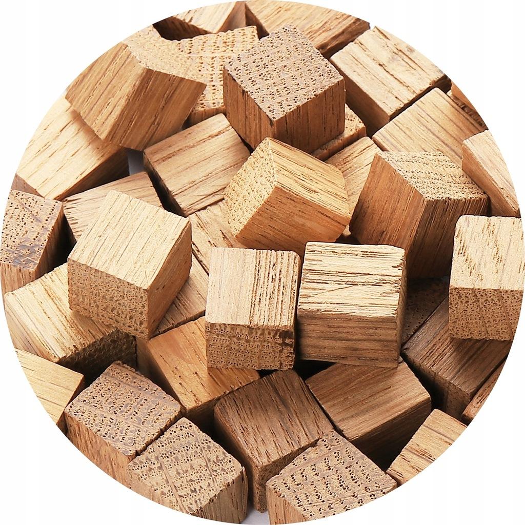 Kostki Dębowe Lekko Opiekane Francuskie Oak 100 g