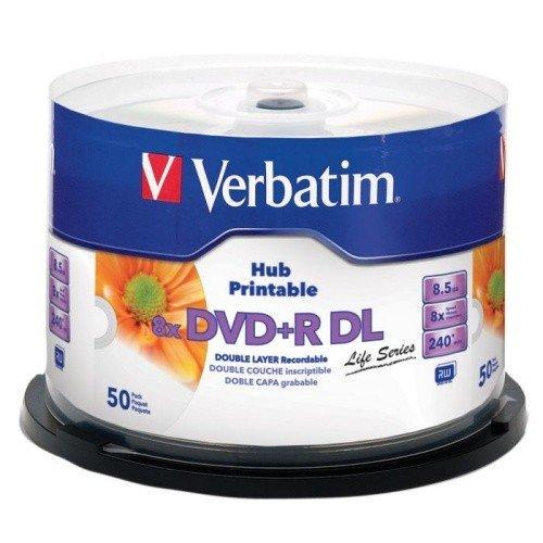 DVD+R DL 8,5GB VERBATIM DO NADRUKU ATRAMENTOWEGO