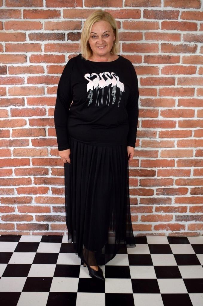 Spódnica Gala Tiul Czarna Lalabaj