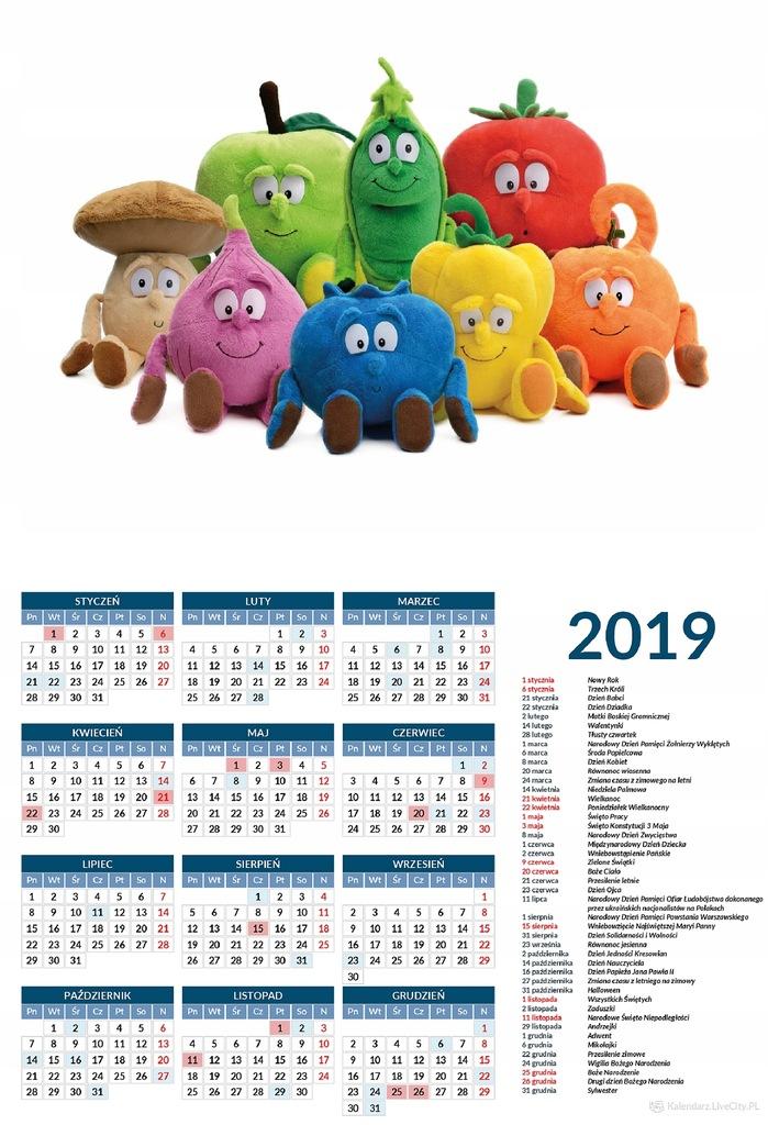 Kalendarz Gang Swiezakow Swiezaki 7659998117 Oficjalne Archiwum Allegro