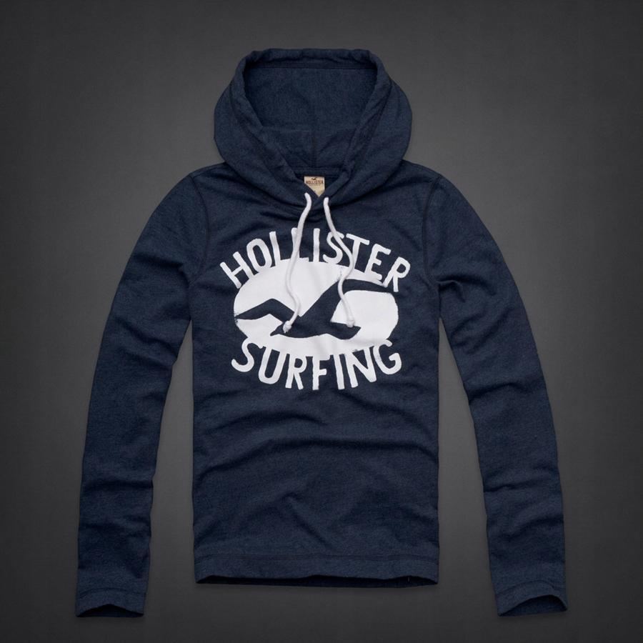 Hollister Avalon Pleace Lightweight Hoodie S