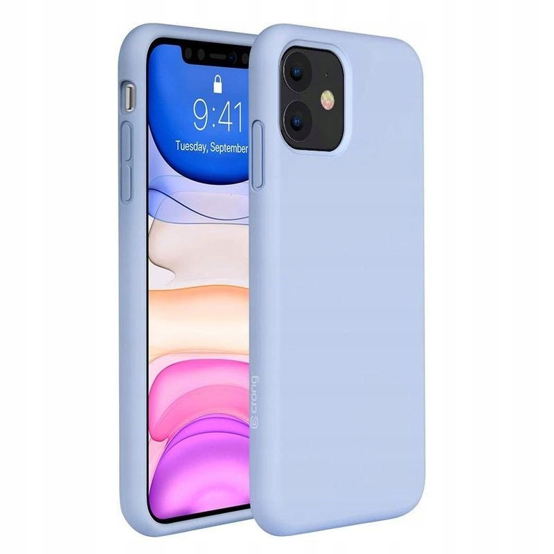 Crong Color Cover - Etui iPhone 11 (purple)