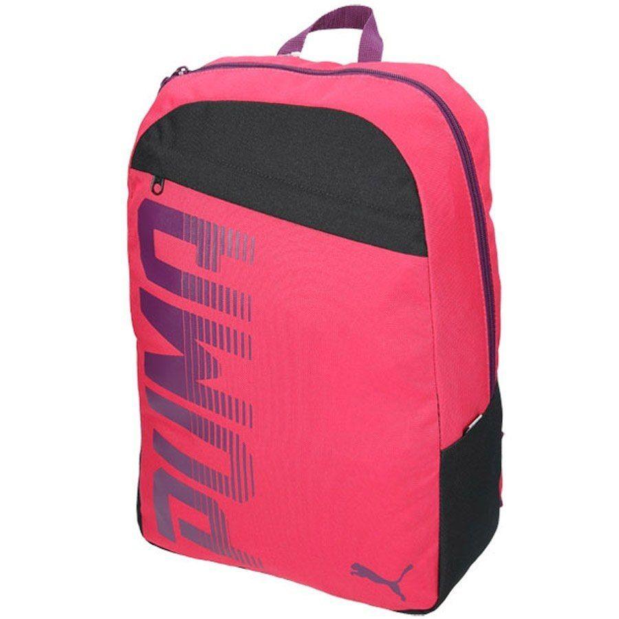 Plecak szkolny PUMA damskie DZIEWCZĘCY czerwony