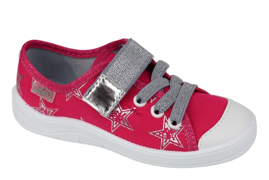 BEFADO Trampki Dziewczęce Różowe 251x096 29