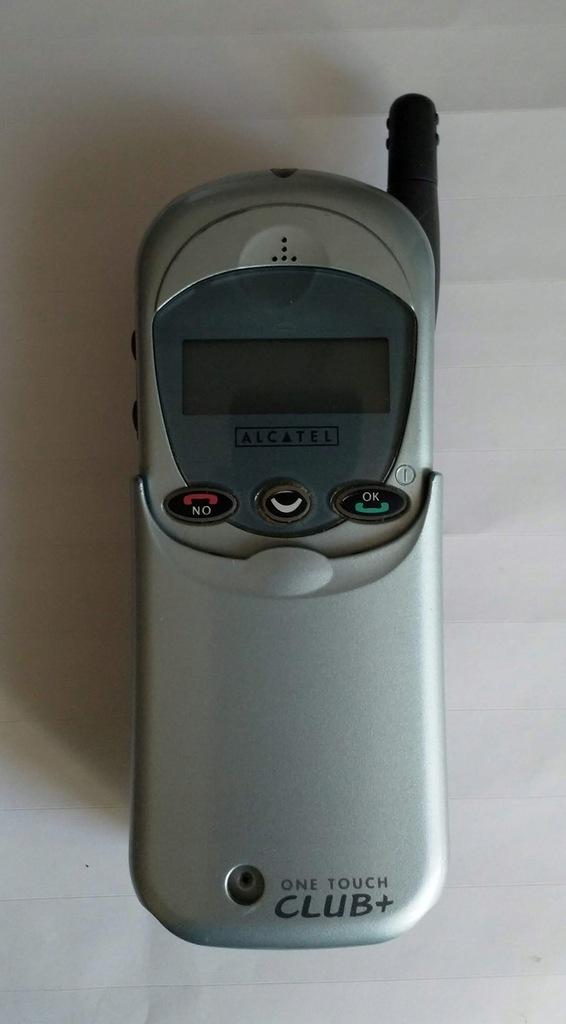 Stary telefon Alcatel One Touch Club Plus - 7900281249 - oficjalne ...
