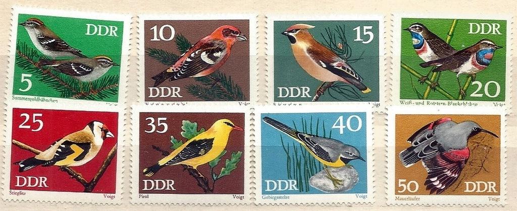 NRD Mi 1834-1841 ** (k3) Ptaki