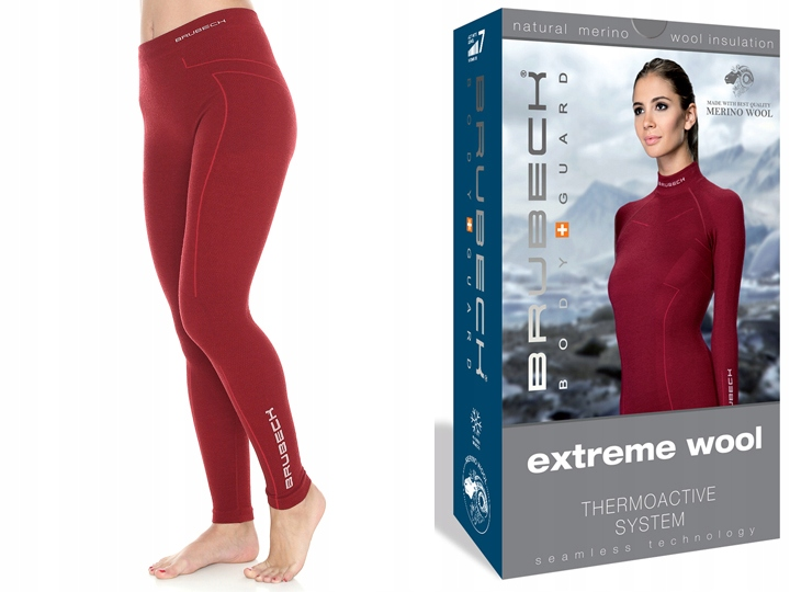 BRUBECK Getry na narty Extreme Wool LE11130 Roz M