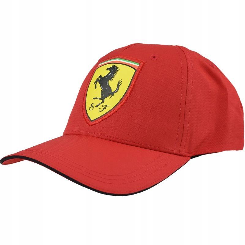 Czapka z daszkiem Puma Ferrari Scudetto Carbon Cap