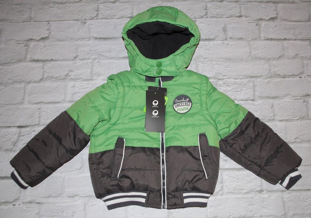 Nowa zimowa kurtka z kamizelką COOL CLUB SMYK r.98