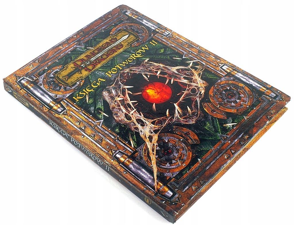 DUNGEONS DRAGONS Księga Potworów II D&D