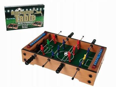 gra Piłkarzyki drewniane stół 12 zawodników sport