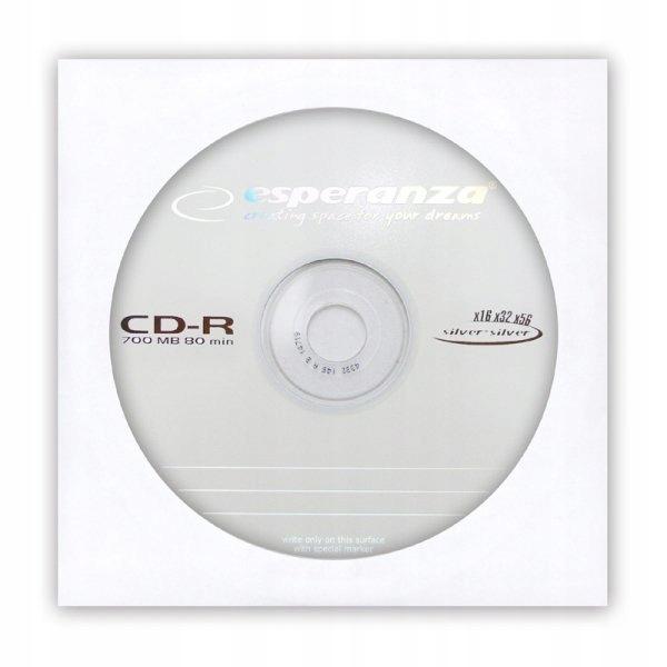 CD-R ESPERANZA SILVER - KOPERTA 1 SZT. __________