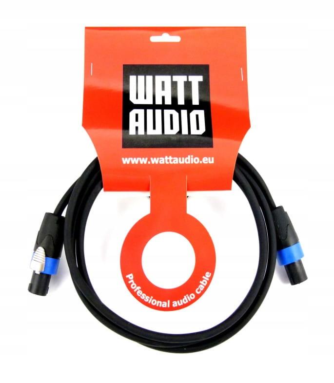 WATT AUDIO Przewód głośnikowy 2x2,5mm, Spk/Spk 2m