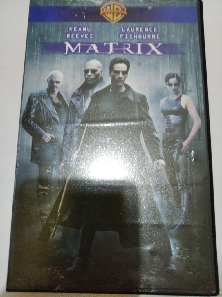 MATRIX MATRIX REAKTYWACJA KEANU REEVES VHS