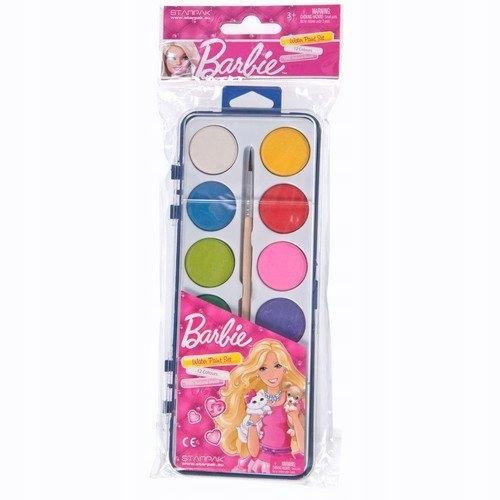 Farby akwarelowe Barbie