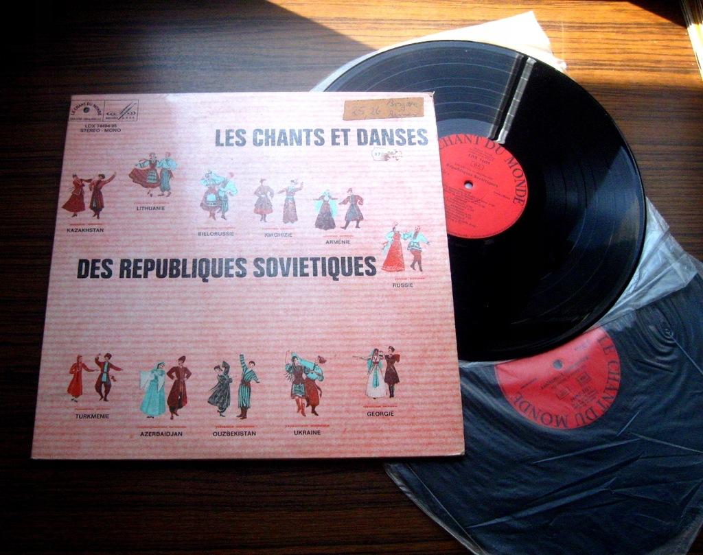 Pieśni i tańce z republik sowieckich 2 LP