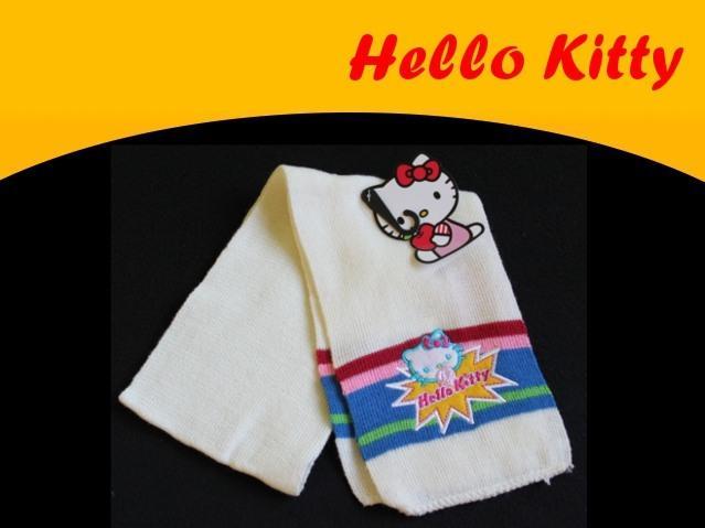 HELLO KITTY - nowy śliczny SZALIK
