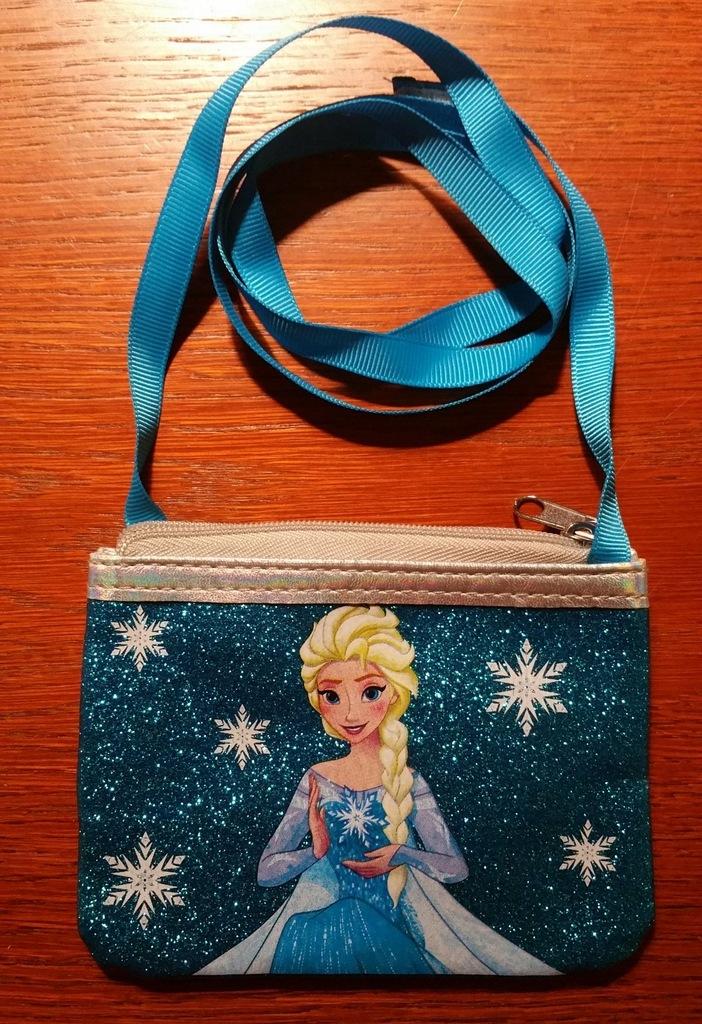 Mini torebka kosmetyczka Frozen 12x9cm Nowa