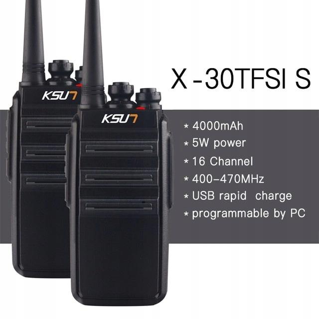Radiotelefon Walkie Talkie krótkofalówka KSX30-SLS