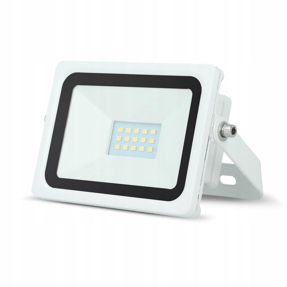 Naświetlacz Halogen LED 10W IP65 3000K EVD biały