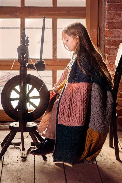 Pled Norah's Vintage Afghan Dziana Banda dla WOŚP