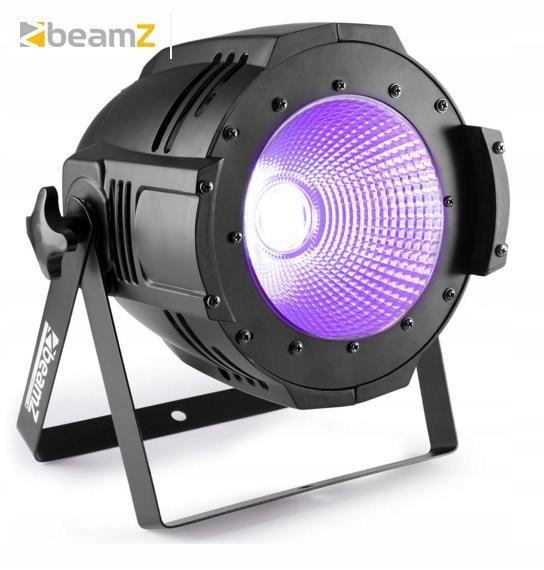 ReflektorUV LED BeamzCOB100 DMX bramka stroboskop