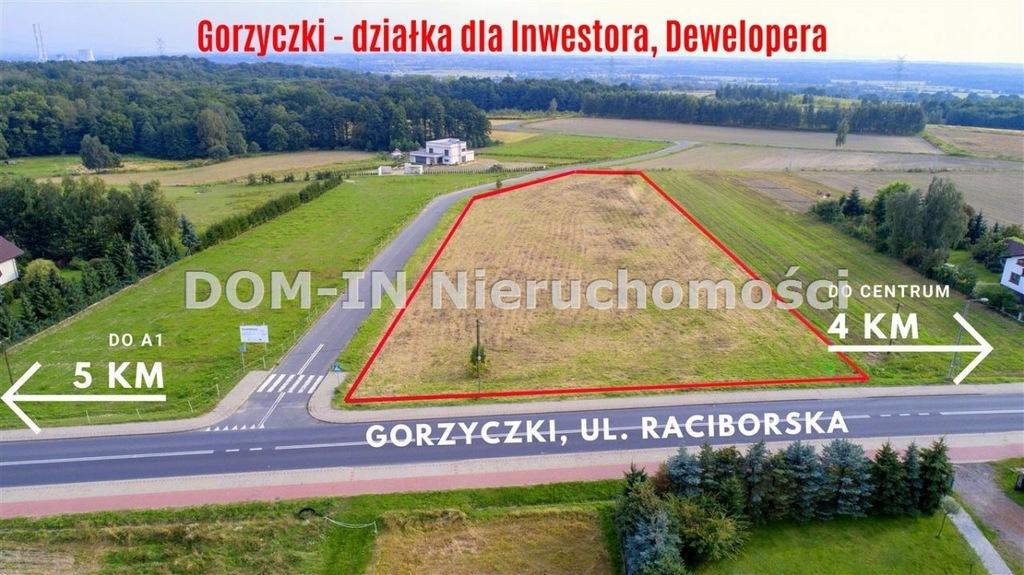 Działka, Gorzyczki, Gorzyce (gm.), 6600 m²