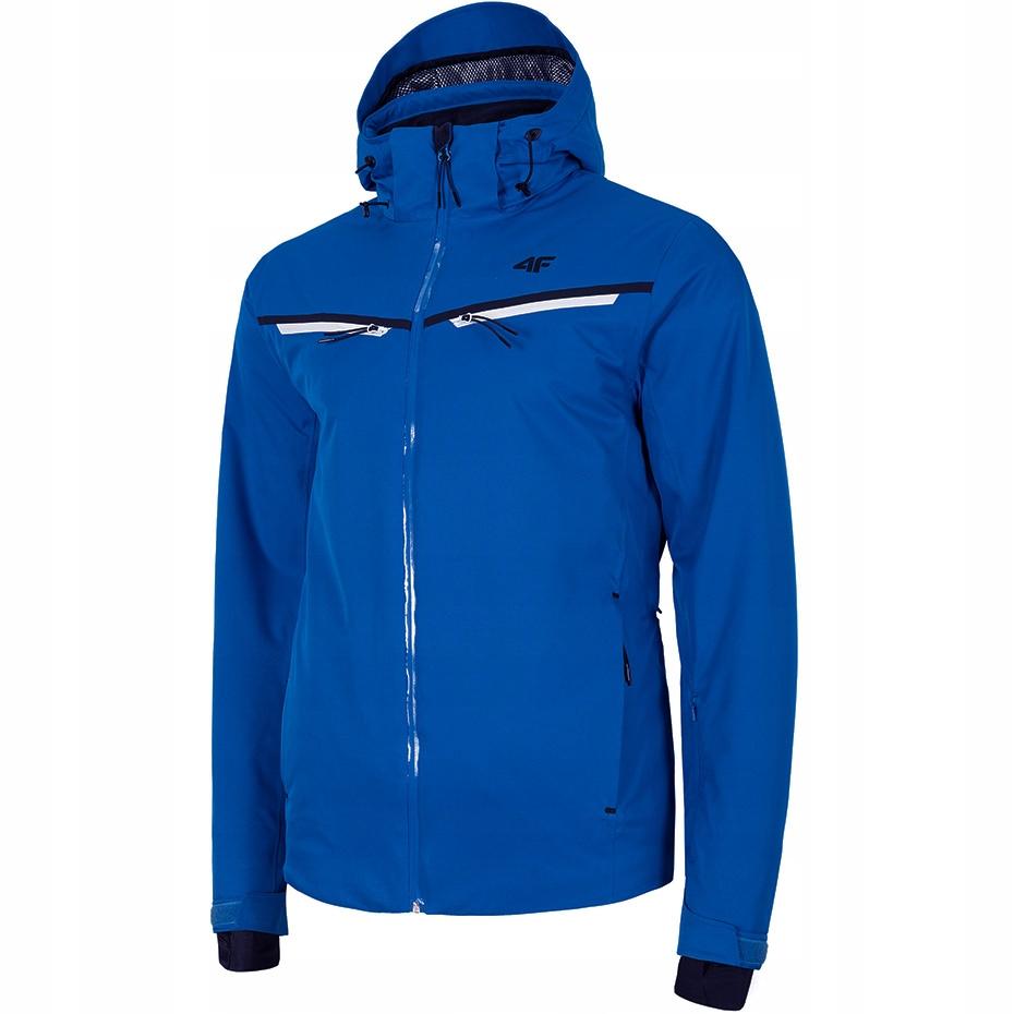 Kurtka narciarska męska 4F niebieska H4Z19 KUMN007