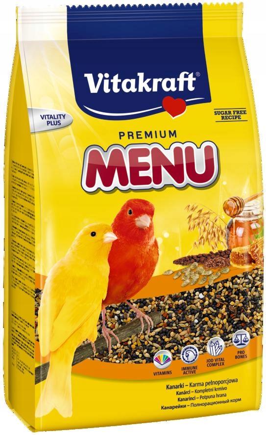 VITAKRAFT MENU VITAL 1kg + kracker gratis d/kanark