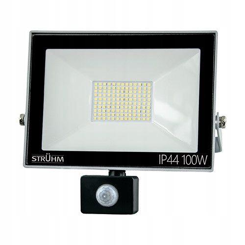 Naświetlacz LED 100W NW+ czujnik ruchu Kroma 03236