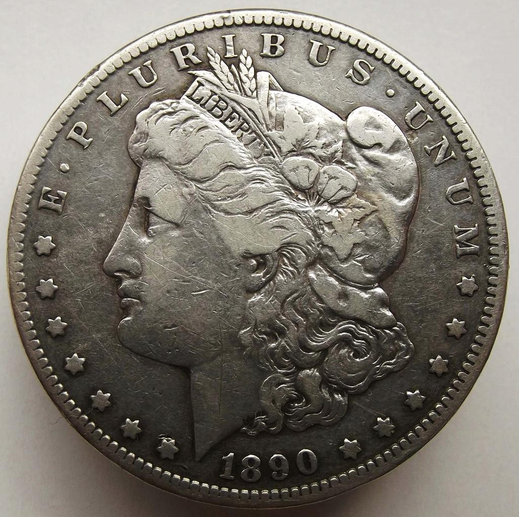 1890 r. CC - srebrny dolar