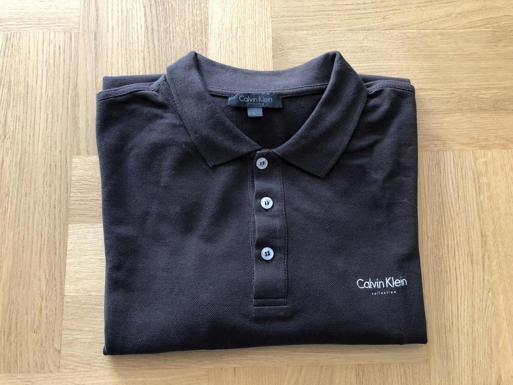 męska bluza koszulka polo Calvin Klein rozmiar L