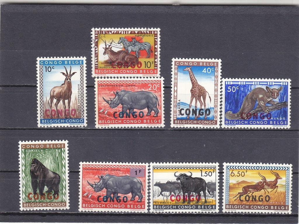 Kolonie belgijskie. 1950. Congo**