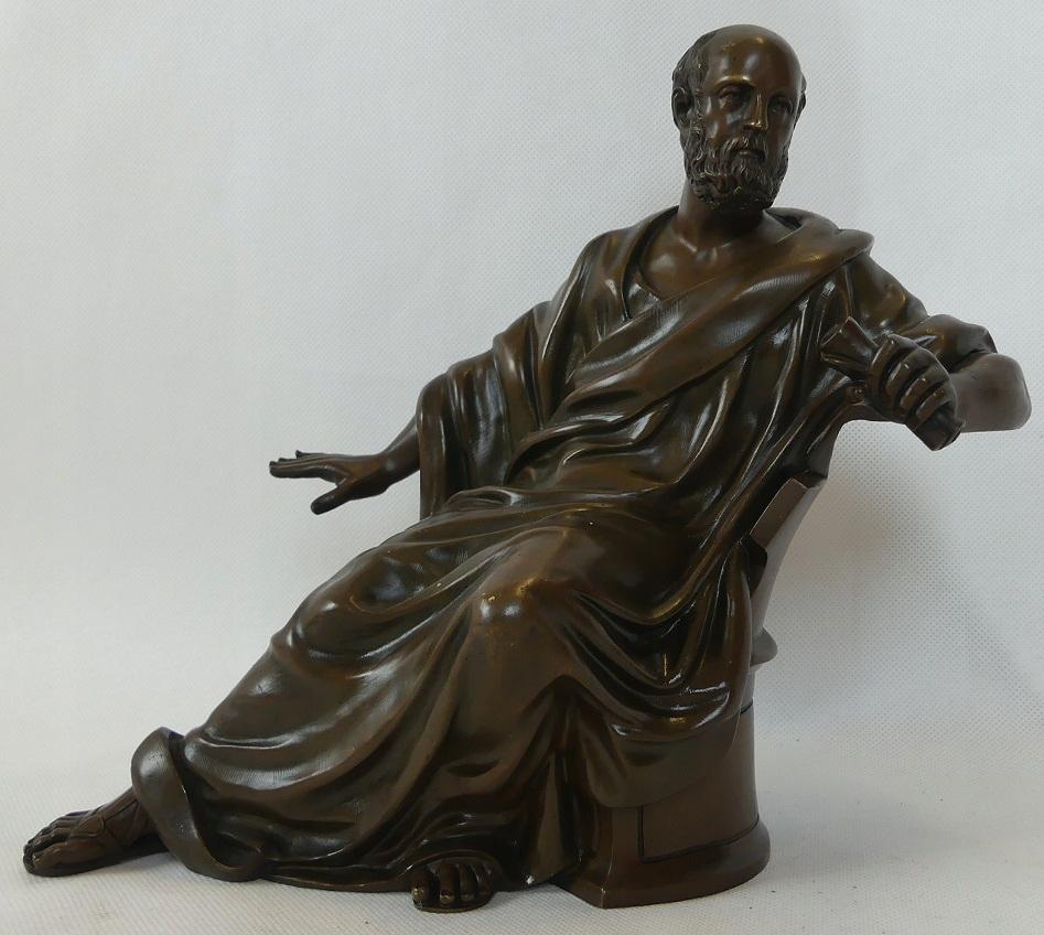 Figura ŚW. PAWEŁ Apostoł Brąz rzeźba