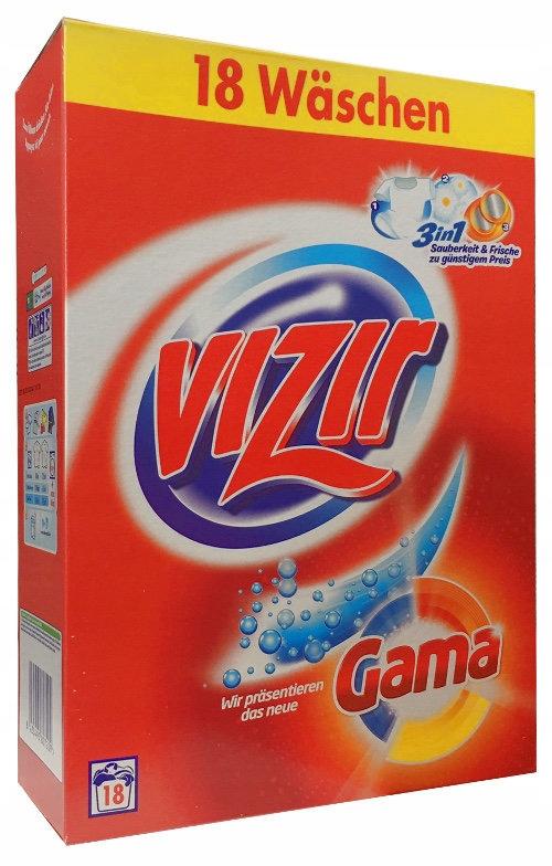 VIZIR gama proszek 18 p 1,170kg NIEMIECKI DE