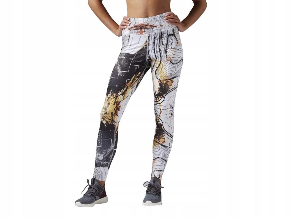 REEBOK sportowe GETRY legginsy siłownia B49123 L