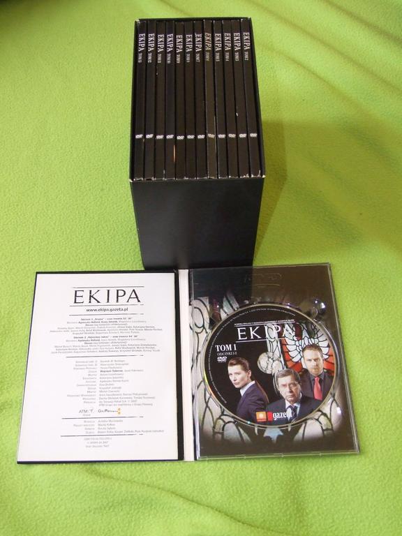 Serial EKIPA na DVD
