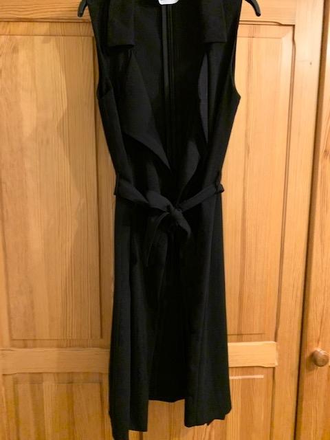 Reserved kamizelka damska 34 czarna z wiązaniem