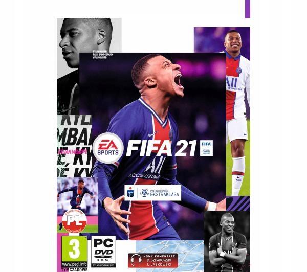 Gra FIFA 21 PC PL