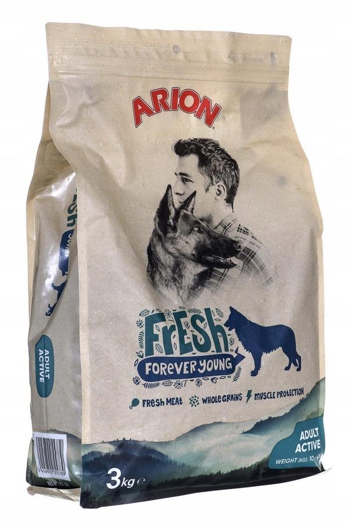 ARION ARION Fresh Adult Active 3kg