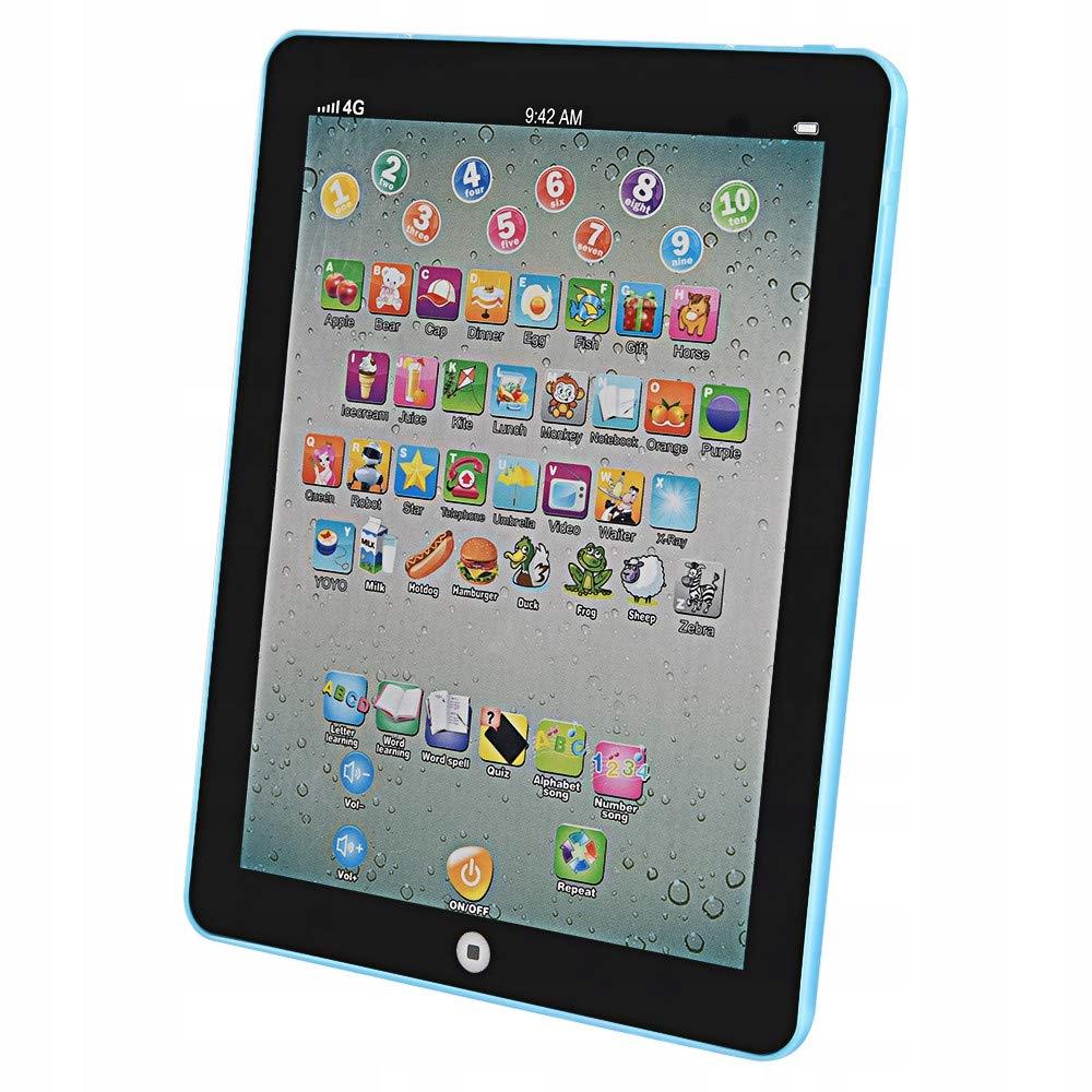 Pierwszy tablet dla dziecka nauka cyfr, alfabetu