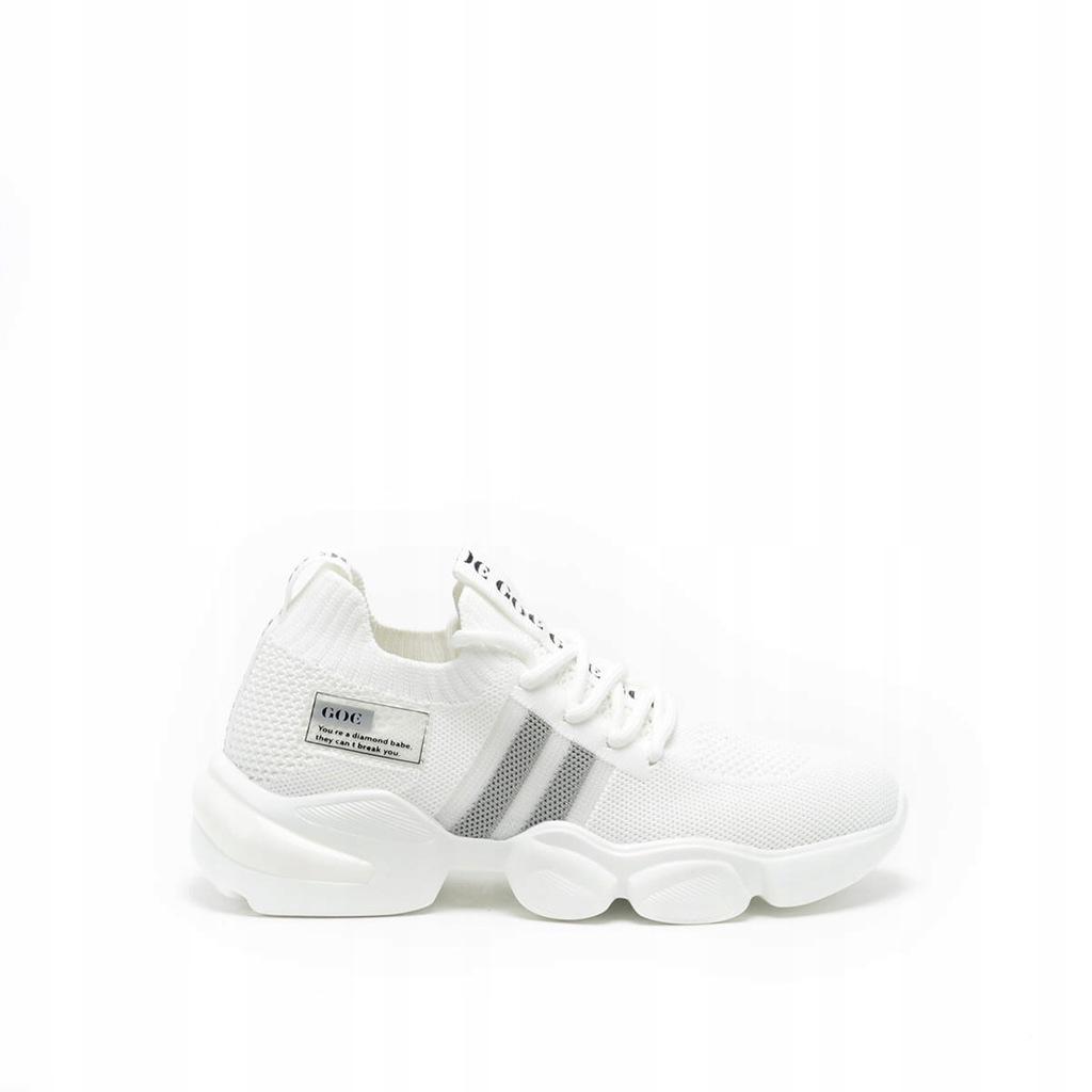 Damskie sneakersy białe GOE HH2N4016 - 40