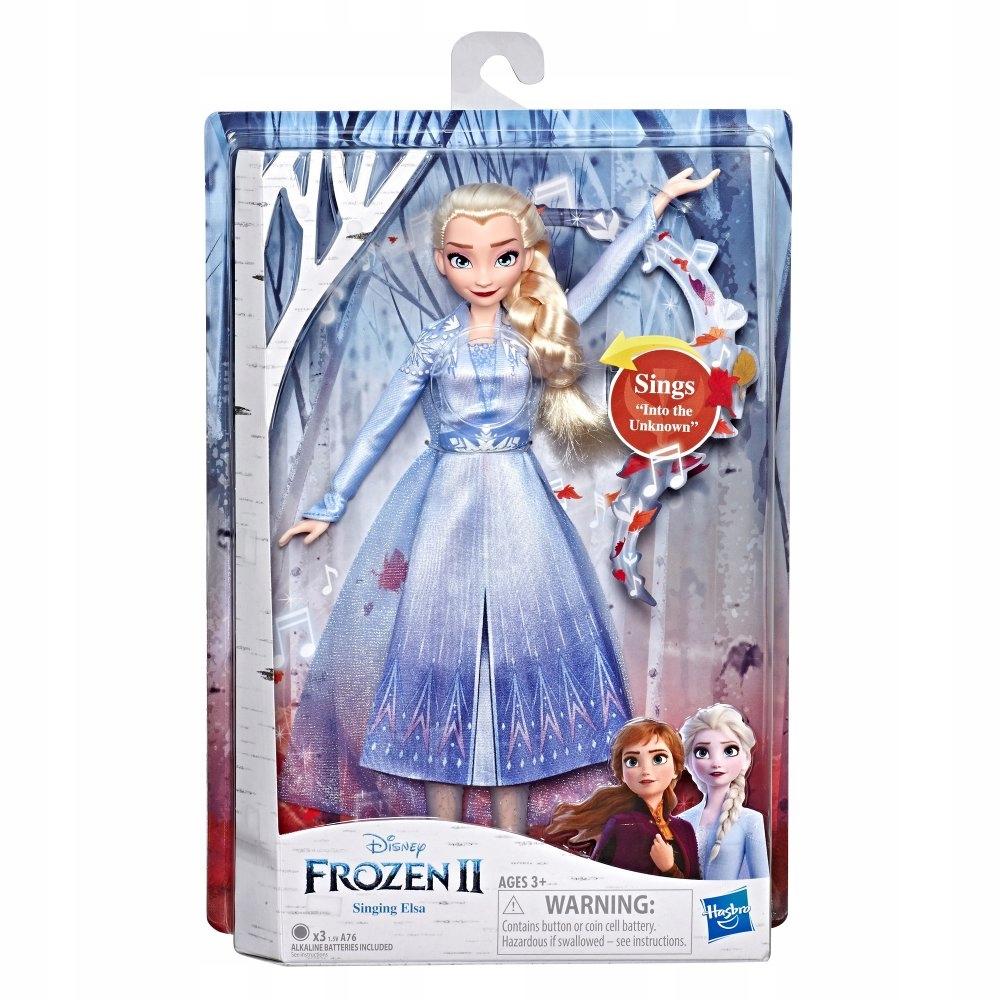 Frozen Kraina Lodu 2 Lalka Elsa Spiewajaca Pl 9015792755 Oficjalne Archiwum Allegro